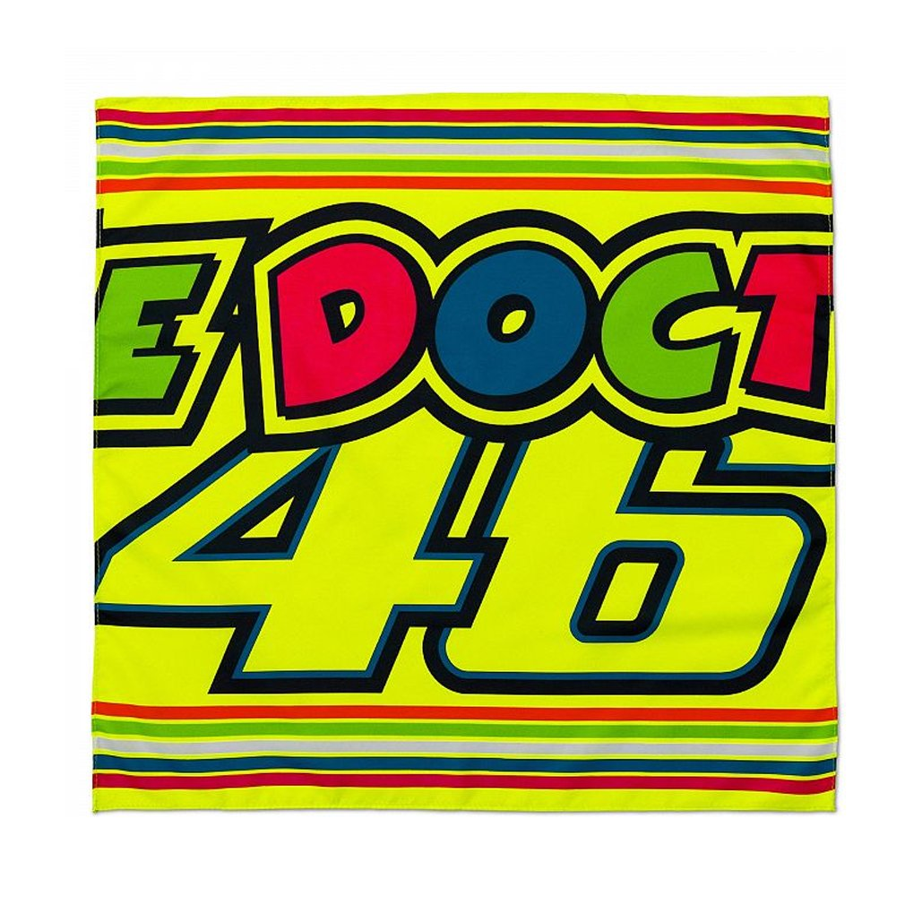 Valentino Rossi VR46 Moto GP The Doctor Bandana Official 2018 VR/46 VRUBA309603