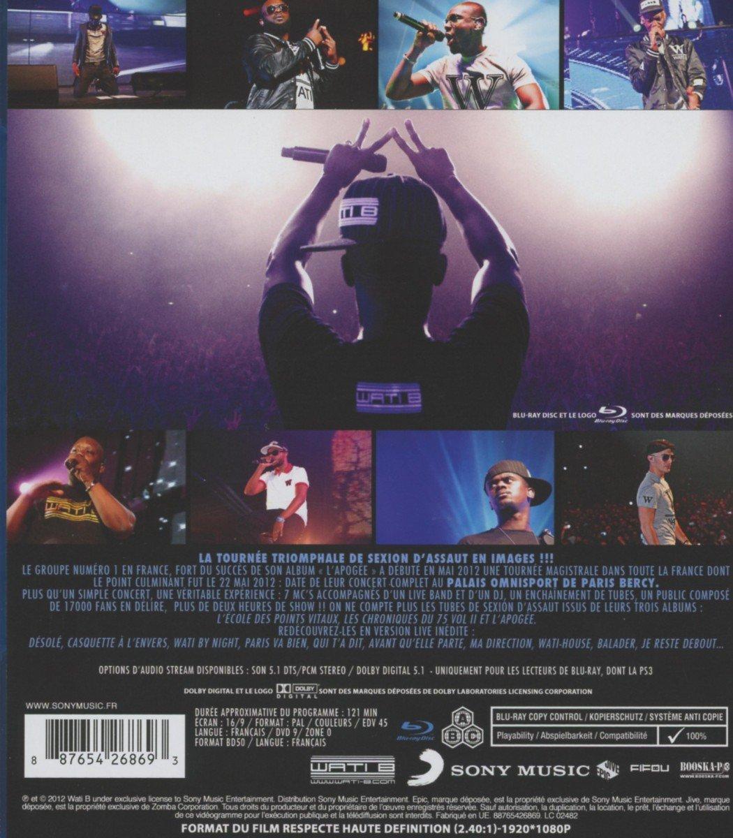 L' Apoge  Bercy [DVD] [Blu-Ray Disc]