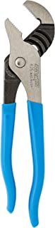product image for Channellock 426 6.5-Inch Straight Jaw Tongue and Groove Pliers | Groove Joint Plier with Comfort Grips | 0.87-Inch Jaw Capacity | Laser Heat-Treated 90░ Teeth| Forged High Carbon Steel | Made in USA,Black, Blue, Silver