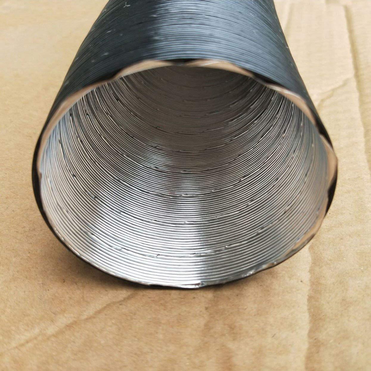 Conducto del calentador de aire del coche profesional 60 mm de di/ámetro de la manguera de desag/üe del tubo del conducto para el carro del coche calentador de accesorios de autom/óviles