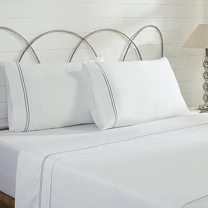 46ab23747018 Amazon.com: Amrapur Overseas | Ultra-Soft 1000 Thread Count 4-Piece ...