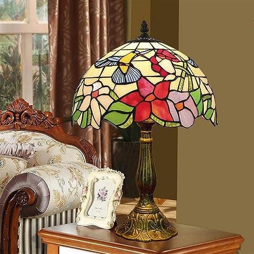 Morsky Lámpara de Mesa de Vidrio de Color - Lámpara de Mesa ...