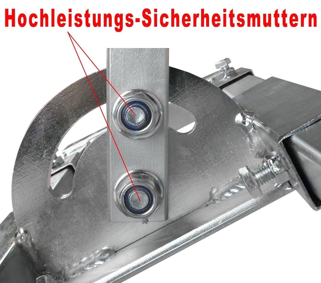 DUR-line Stabilo 48//1000 Dachsparrenhalter f/ür Satellitensch/üsseln bis 90 cm Durchmesser