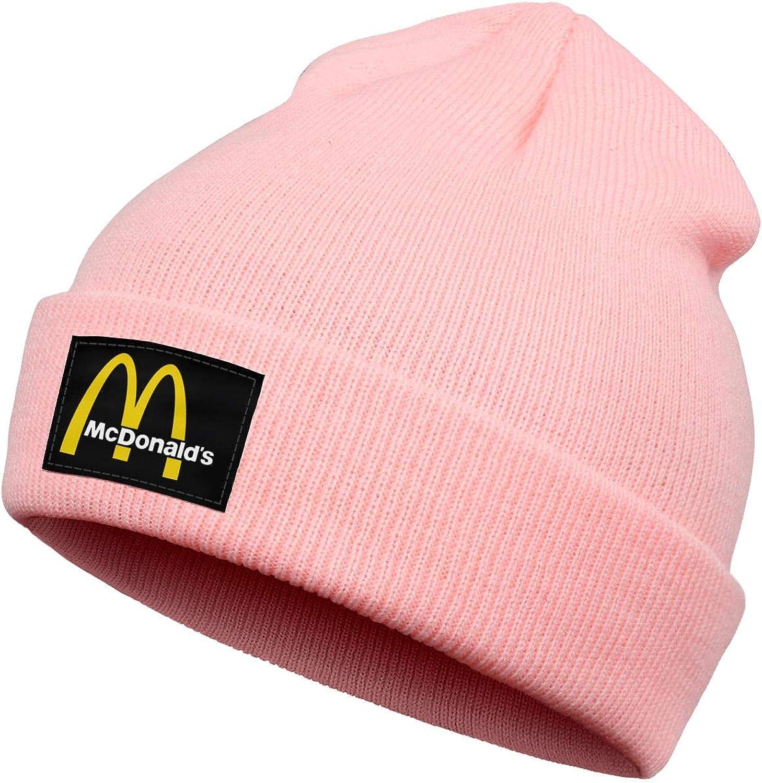 Sports Running Hiking Kids Boys/Girls Beanie Hats Delicious-Hamburger- Stay Warm Knit Cap