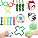 Sensory Fidget Toys Set Stress Relief Fidget Hand Toys for Kids and Adults Relaxing Therapy Fidget Toys Fidget Toys for ADHD Anxiety Autism