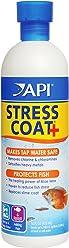 API STRESS COAT Aquarium Water Conditioner 473 ml Bottle