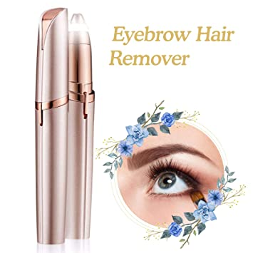 Amazon.com : Make up Led Light Eyelash Eyebrow Hair Removal ...