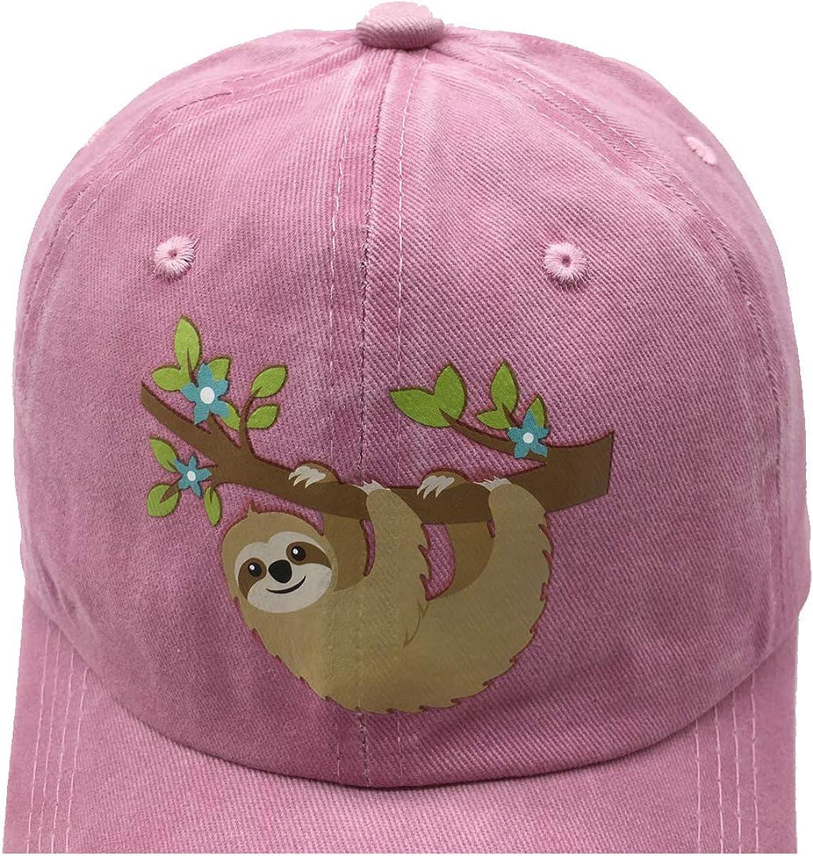 NVJUI JUFOPL Girls Cute Baseball Hat Washed Adjustable Vintage Funny Dad Cap for Kid Black