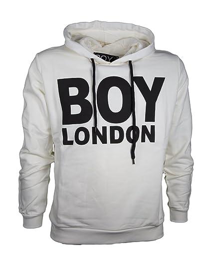 codice promozionale 7f14b 75351 BOY London Felpa Basic CON Cappuccio: Amazon.co.uk: Clothing