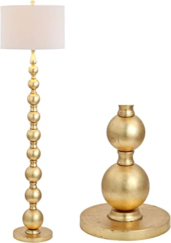 JONATHAN Y JYL5048A Adriana 62.5″ Metal LED Floor Lamp Contemporary,Transitional