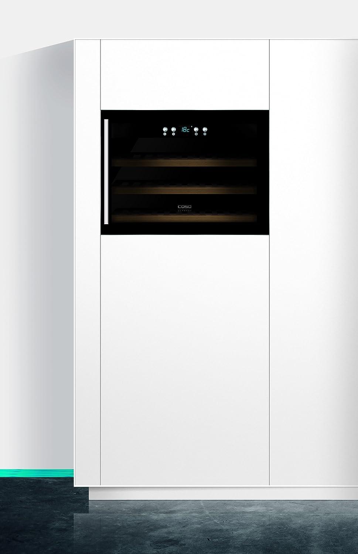 CASO WineSafe 18 EB Design Einbauweinkühlschrank für bis zu 18 ...