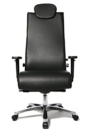 TOP STAR Topstar Big Star Heavy Duty Swivel Chair For Capacity Up To 150kg    Black