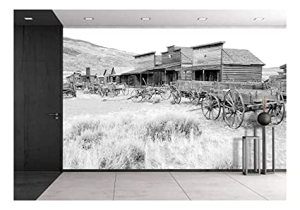 Wall26 Ghost Town Cody Wyoming United States Removable Wall Mural Self Adhesive Large Wallpaper 66x96 Inches