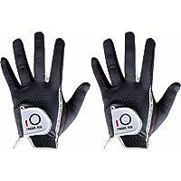 Dedo Diez 2017Mens RainGrip Hot húmedos Confort extra Valor Guantes de golf mano izquierda Izquierda y mano derecha RH Durable Valor (2unidades)