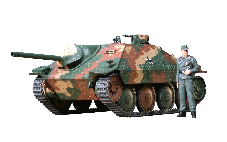 TAMIYA 300035285 - 1:35 WWII Deutsche Jagdpanzer Hetzer, 38 ton (1)