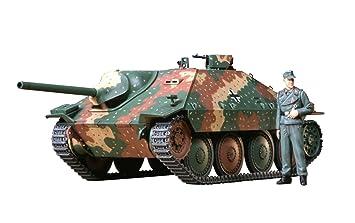 Tamiya 35285 - Maqueta Para Montar Tanque Alemán Hetzer Versión Intermedia Escala 1/35