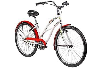 """size 40 c5142 023fd Bermuda 26 Zoll Cruiser Strawberry Fahrrad Strandfahrrad 26"""" Bike  Beachcruiser Rad Herren Damen Schutzbleche, Seitenständer"""