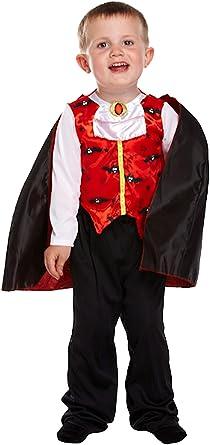 Childrens Little Devil Fancy Dress Costume Devil Girl Halloween Outfit 2-3 Yrs