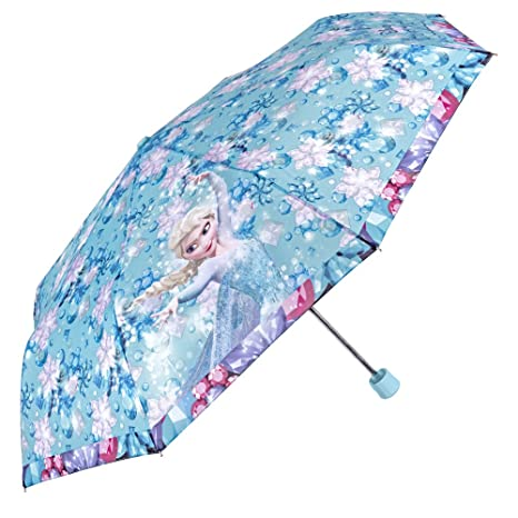 Disney Frozen: El Reino del Hielo – Paraguas Mini para niña Perletti – Paraguas Plegable