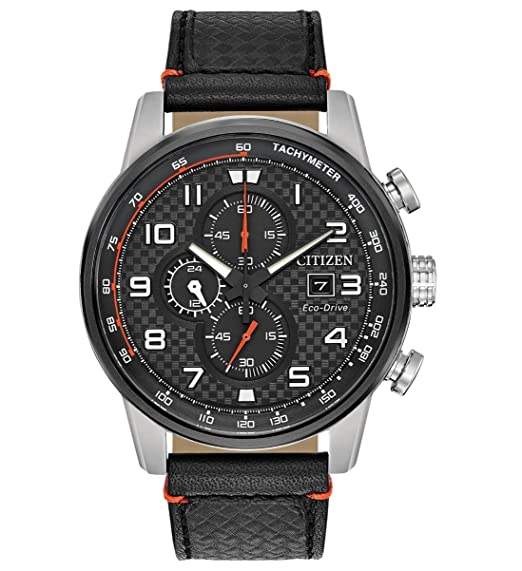 e53f3eccc26 Citizen CA0681-03E Eco-Drive Primo Black Leather Men s Watch  Amazon.ca   Watches