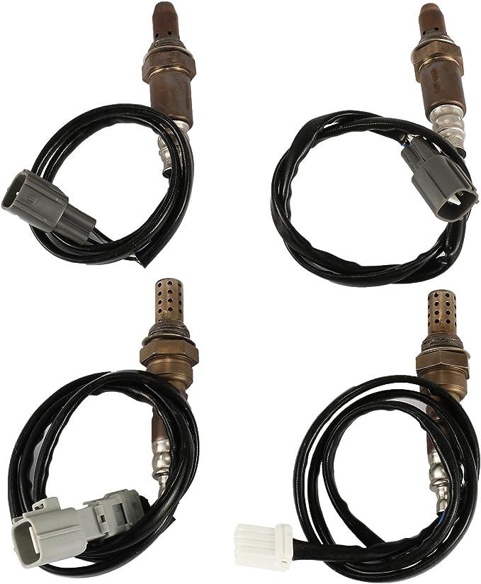 Mophorn Sauerstoff Sensor O2 89467 48050 89465 08040 Set Von 4 Für Toyota Sienna 04 06 Auto