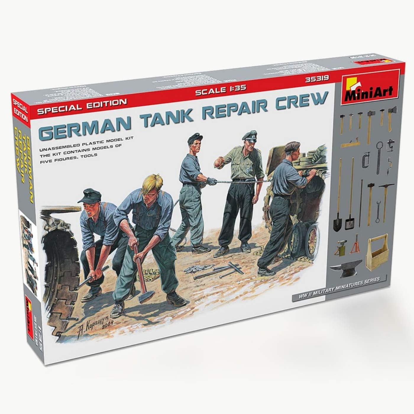 1//35 Resin German Tank Crew 2 Kit at Rest unpainted unassembled 1214