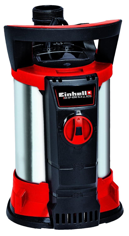 Einhell GE-SP 4390 NA LL ECO 430W 9000l/h External water pump - Bomba de agua (External water pump, Suministro de agua, Negro, Rojo, De plá stico, Acero inoxidable, 8 m, 9000 l/h) De plástico 4171440