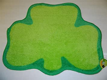bath rugs bath rug round st patricks day green shamrock bath mat rug door bedroom kitchen