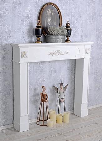 shabby chic decorative fireplace mantelpiece fireplace surround fireplace console design - Decorative Fireplace