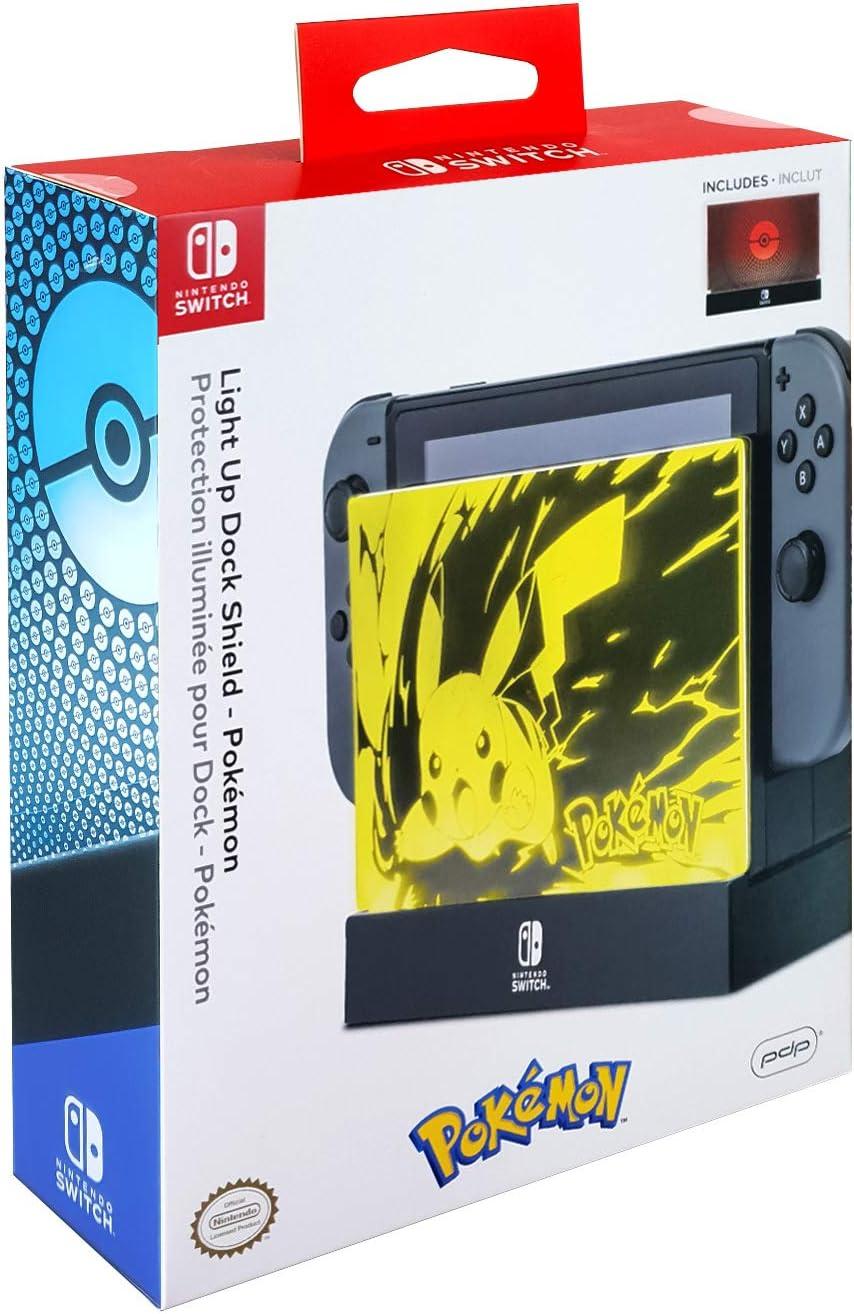 Pdp Nintendo Switch Pokemon Light Up Dock Shield, 500 114 by By          Pdp