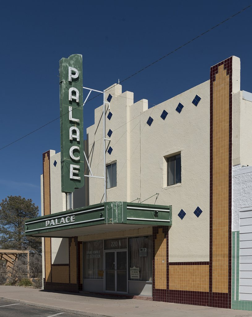 Marfa, TX Photo - The Art Deco Palace Theater, a onetime movie theater in downtown Marfa, TX - Carol Highsmith