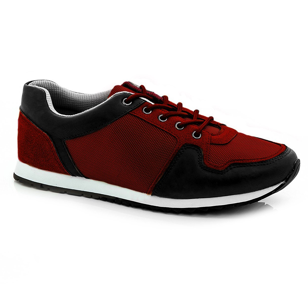 Franco Vanucci Mens 9994 Lace Up Sneakers Black We Size 10.5 by Franco Vanucci