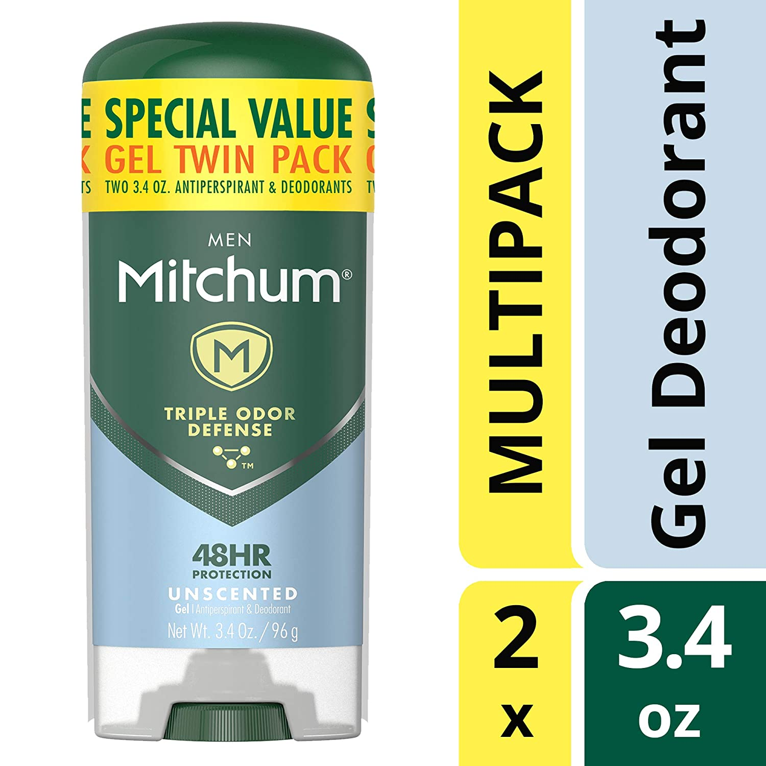 Mitchum Antiperspirant Gel Deodorant (Men)