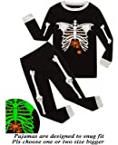 Little Pajamas Boys Skeleton Glow in The Dark