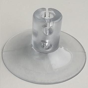 Bohrung Saugnapf Sauger Kabel Lichterketten 1-100 Saugnäpfe Ø 30 mm Schlitz