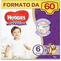 Huggies Pannolino Mutandina, Taglia 6 (15-25 Kg), 2 Pacchi da 30 Pezzi