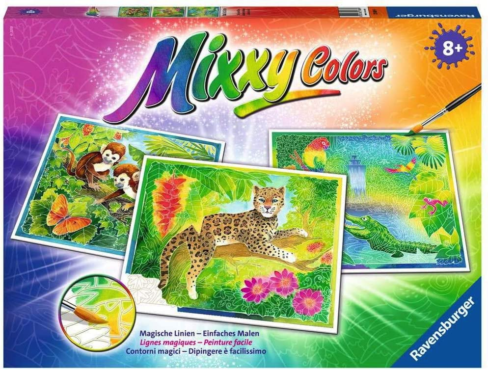 Ravensburger Mixxy Colors 27689 Animales exóticos Juguete de Peluche