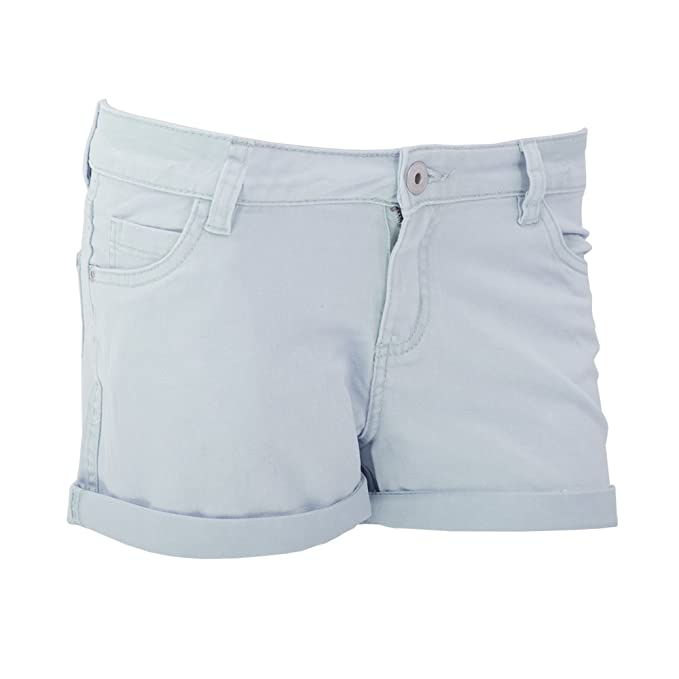 Brave Soul- Pantalones cortos desteñidos para mujer (EUR 36 ...