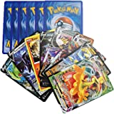 100 Cartas Pokemon Español Edición Espada y Escudo - Contienen 8 + 1 Cartas Aleatorias en Cada sobre de Tarjetas Basic…
