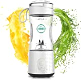 LaHuko Blender Portable Blender Personal Size Blender Juicer Cup for Juice Crushed-ice Smoothie Shake with Six Blades…