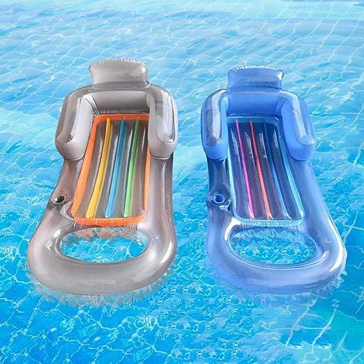 OKM - Colchón inflable para playa, piscina, tumbona flotante, cama para dormir o deportes acuáticos: Amazon.es: Hogar