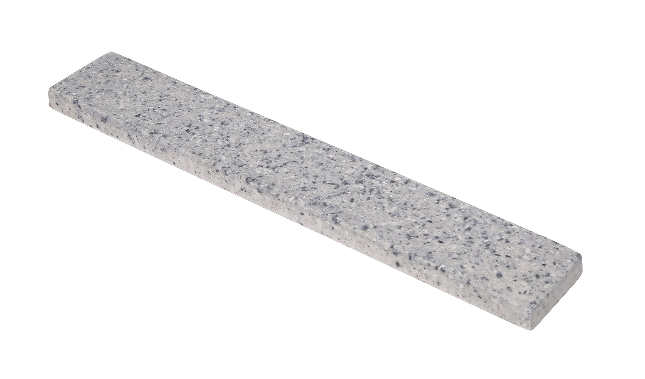 Design House 554238 Wave 22-Inch Side Splash, Grey Granite Matte,