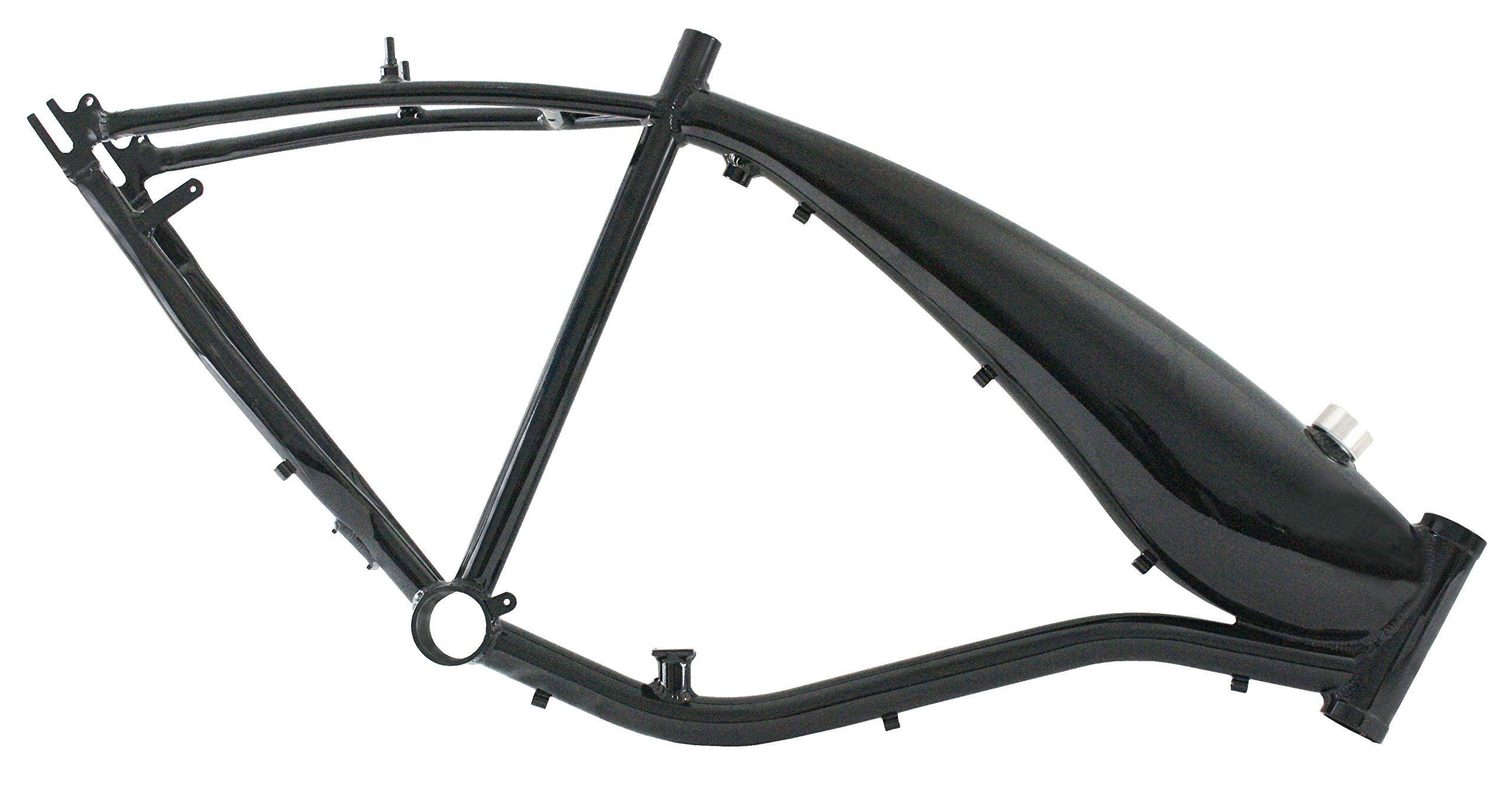 Bicycle Frame w/fuel tank 3.75l - Black by Kobe (Image #2)
