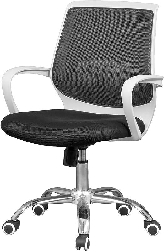 duehome - Silla de Oficina ergonomica, Silla para Escritorio o ...