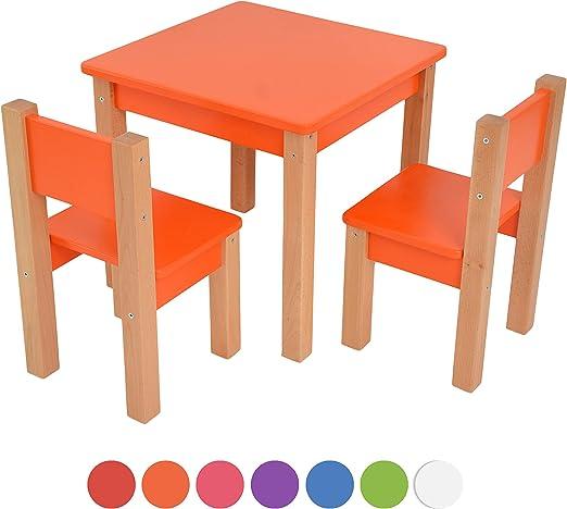 Kindertisch und Kinderstühle für Jungen und Mädchen