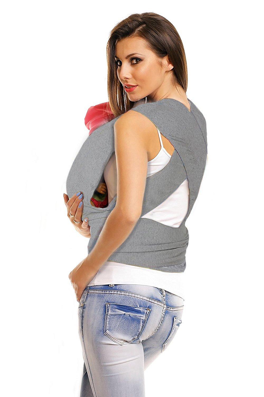 Echarpe de portage porte-bébé 4 en 1   porteur de bébé pour homme et femme    foulard élastique pour bébés   le meilleur cadeau pour la fête de  Bienvenida du ... 57affb52ec5