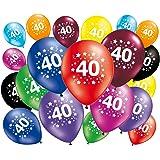 20 globos cumpleaños 40 años