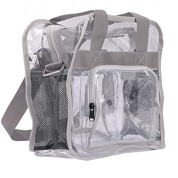 Amazon.com: Bolsas transparentes para gimnasio de alta ...