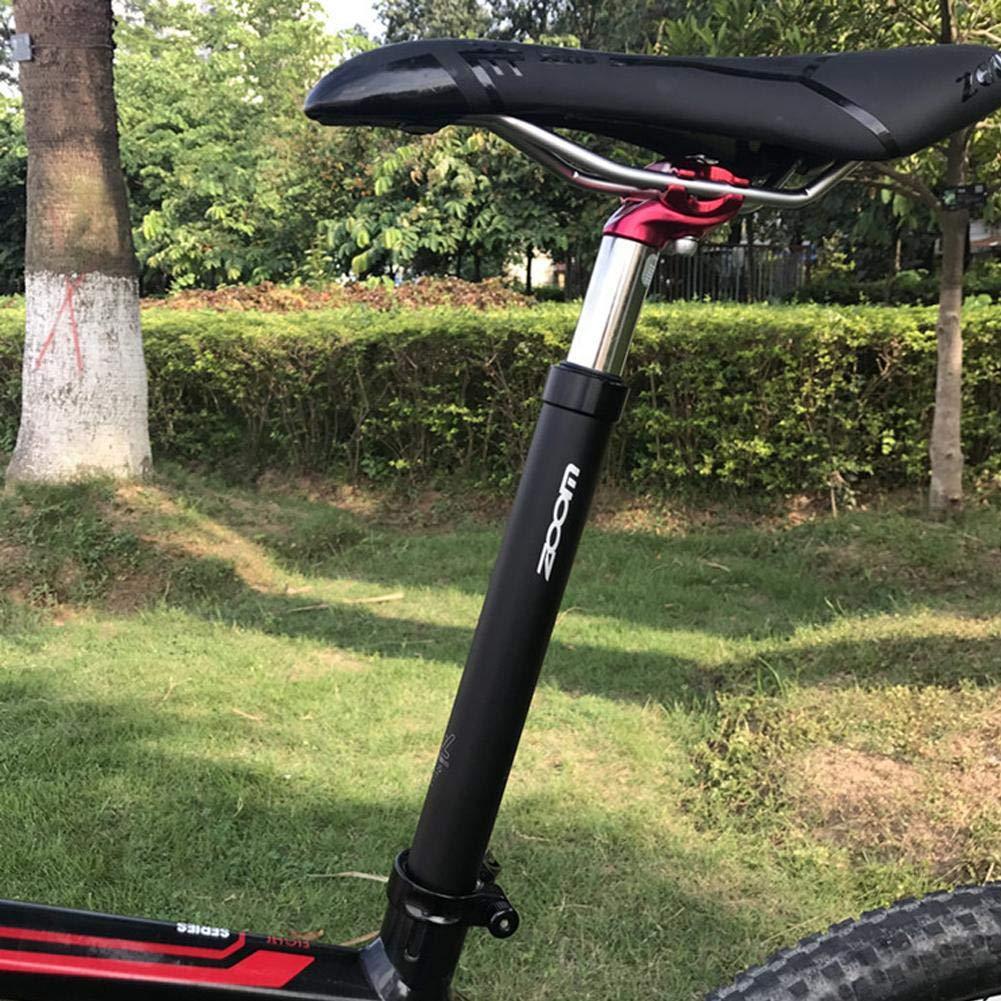 Sroomcla Suspensi/ón del tubo del asiento bicicleta de monta/ña Bicicleta Suspensi/ón del asiento del tubo Fixie Bicicleta Suspensi/ón del asiento del tubo Aluminio Tija de sill/ín