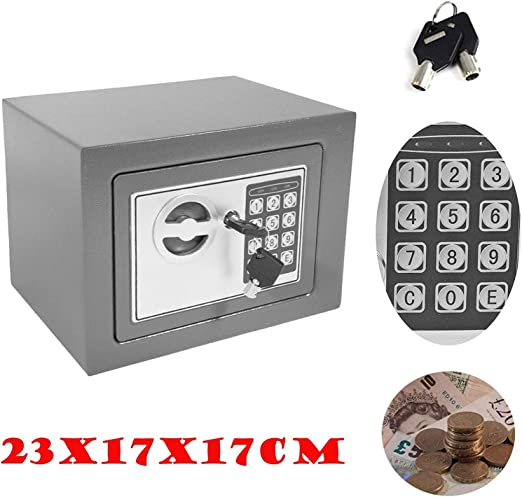 HYLH Caja Dinero electrónica Segura, Hucha para Adultos con código ...